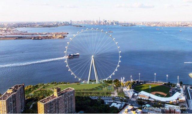 La noria más alta del mundo, New York Wheel, estará en Staten Island