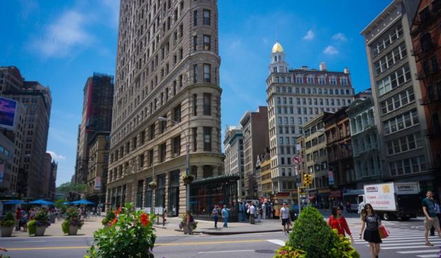 Tour de Alto y Bajo Manhattan visitando el Flatiron