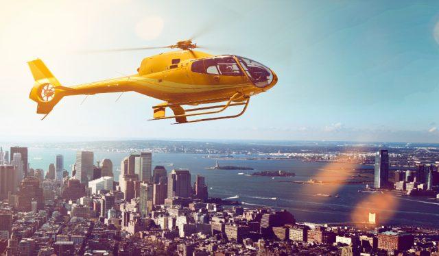Tour en helicóptero en Nueva York Liberty Harbor