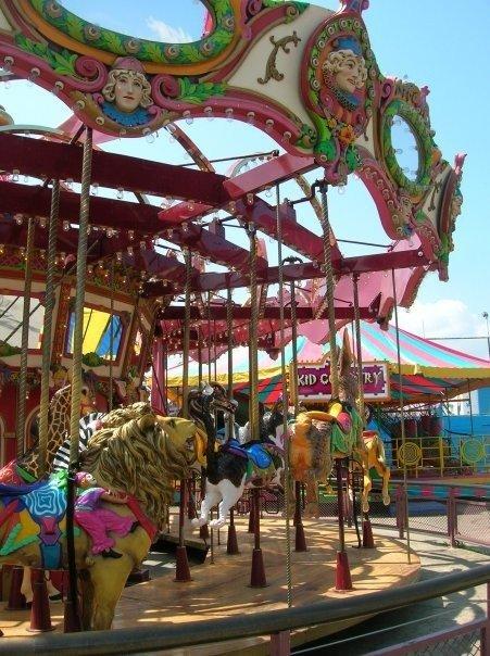 Carrousel en Coney Island Brooklyn