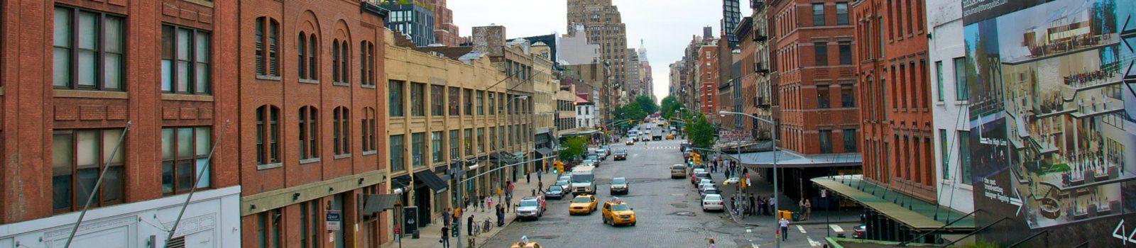 Chelsea High Line Park Header