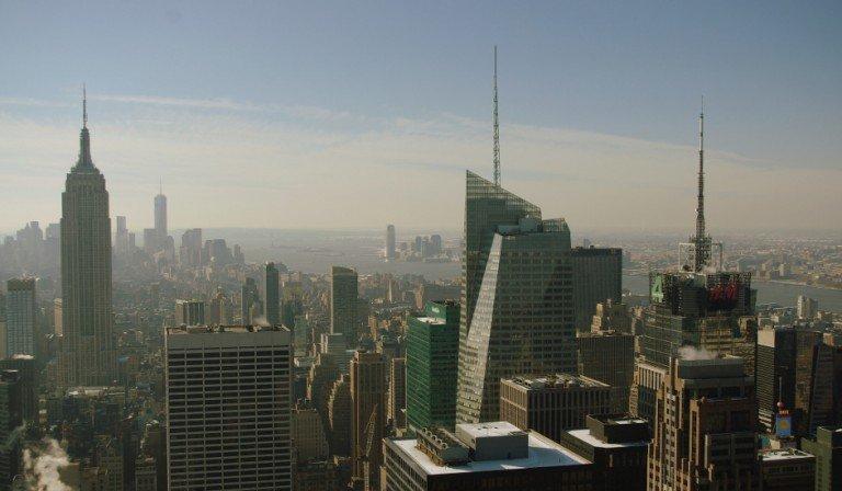 Empire State visto desde el Top of the Rock, que forma parte de la City Pass