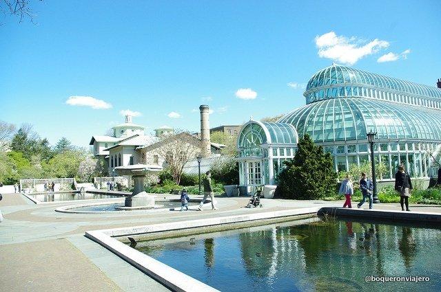 Instalaciones del Jardín Botánico de Brooklyn