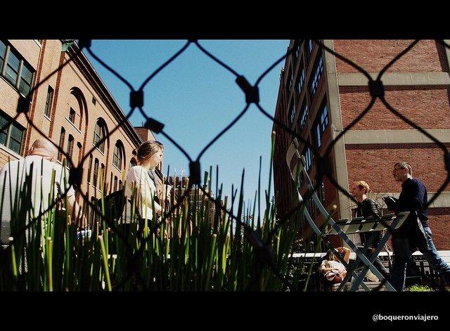 Otra mirada del Chelsea High Line Nueva York