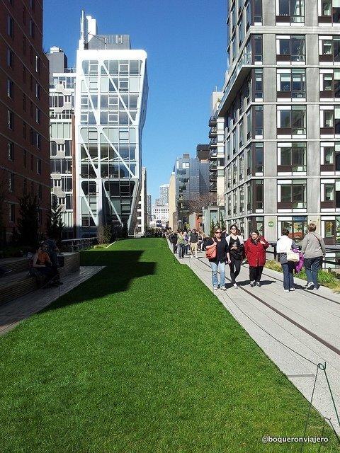 Paseando por Chelsea High Line Park
