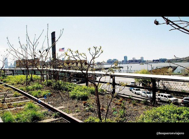 Skyline desde el Chelsea High Line