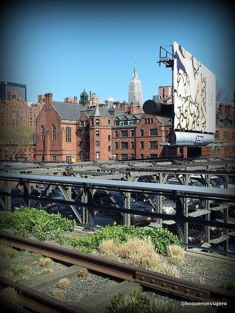 Vías de Chelsea High Line Park