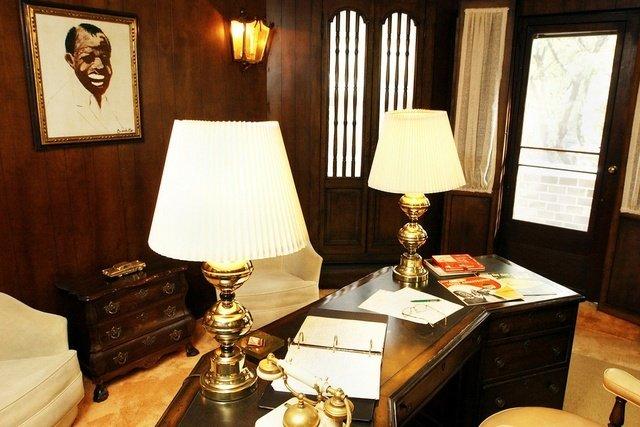 Despacho en la Casa Museo de Louis Armstrong