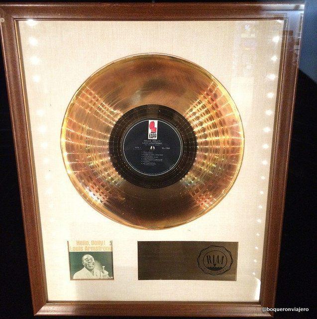 Disco de Oro de Louis Armstrong
