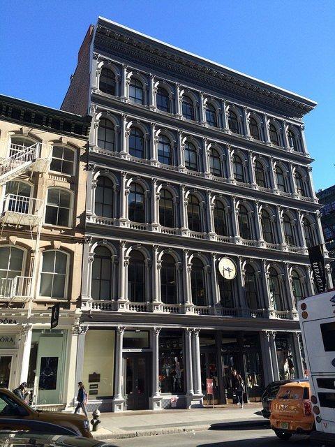 E V Haughwout Building en el SoHo Nueva York