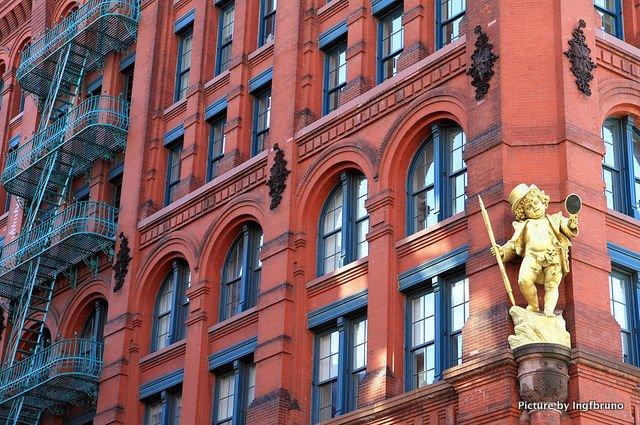 Edificio Puck en el SoHo Nueva York