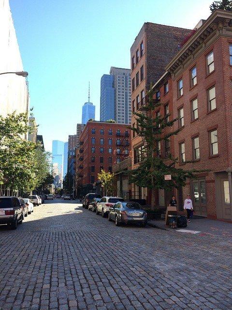 Empire State desde el SoHo de Nueva York