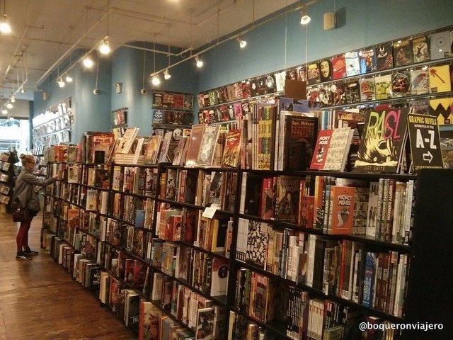 Forbidden Planet librería en Nueva York