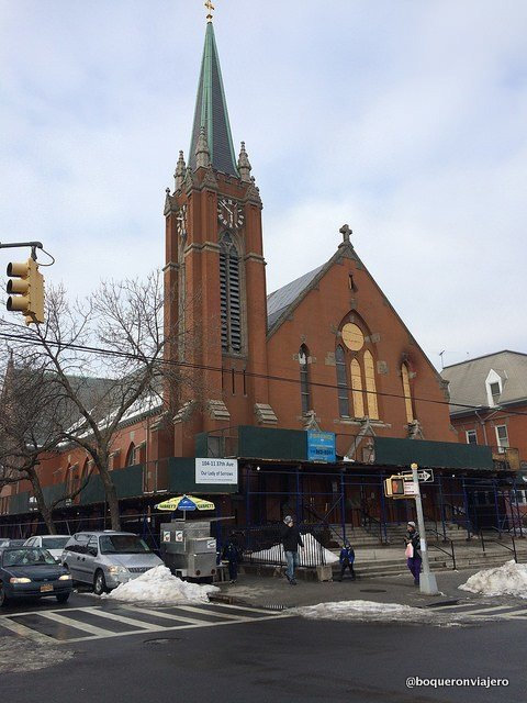 Iglesia donde iba Louis Armstrong