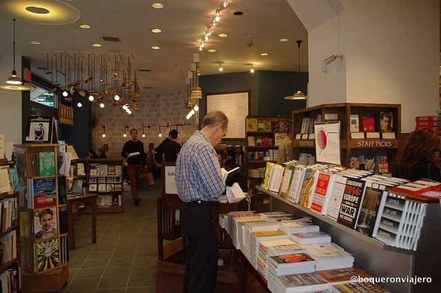 Interior McNally Jackson Books en Nueva York