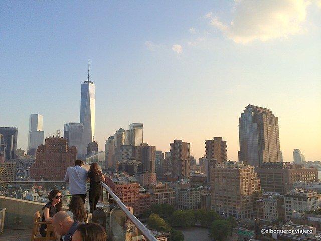 Jimmy Rooftop en el verano en Nueva York