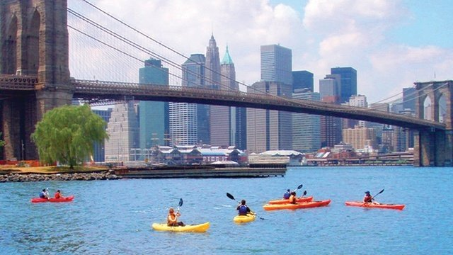 Kayak en New York