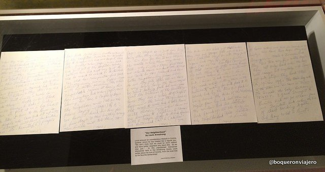 Manuscritos de Louis Armstrong