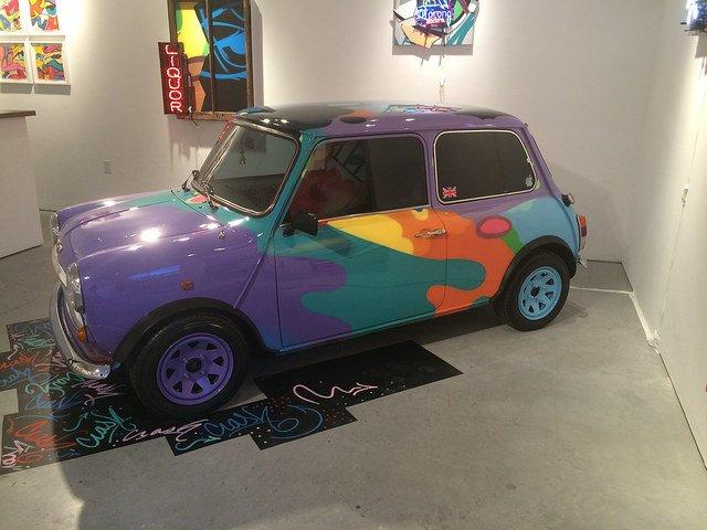 Obra en galería de arte en Chelsea