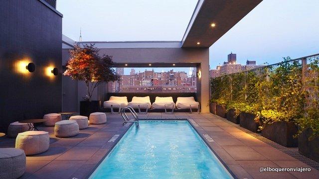 Rooftop Pool del Hotel Americano