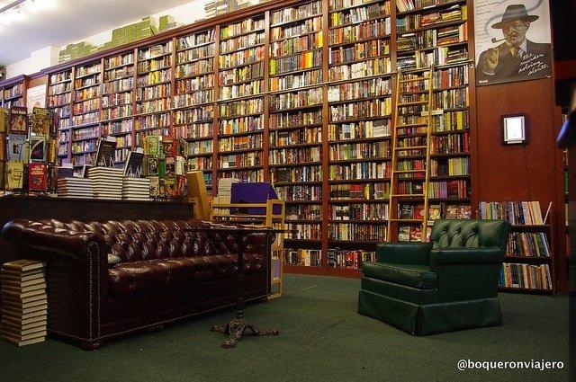 The Mysterious Bookshop una de las librerías en Nueva York