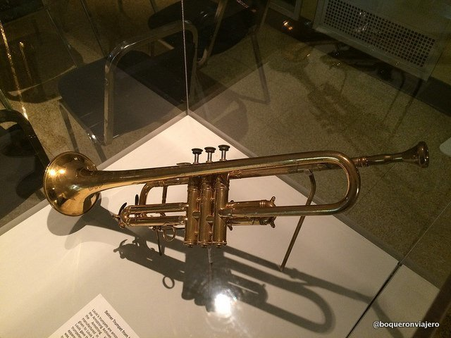 Trompeta original de Louis Armstrong