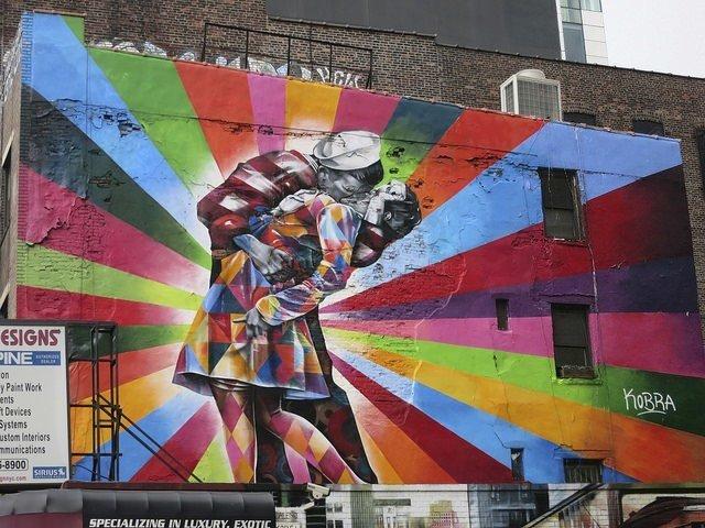 Arte callejero en Nueva York