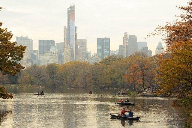 Barcas en Central Park