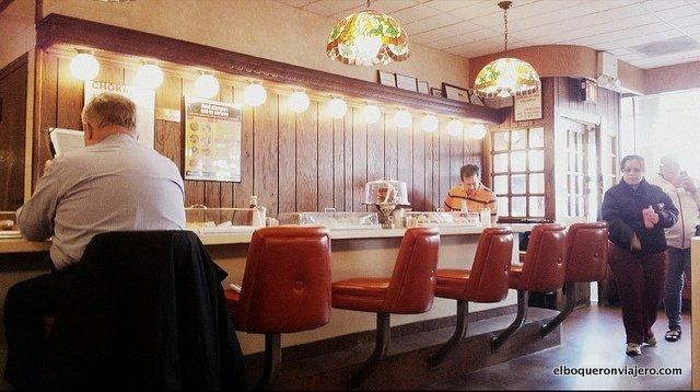 Barra de Jahn's Diner en Queens