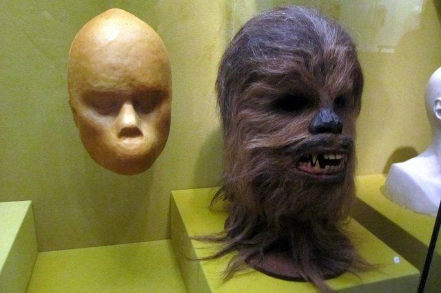 Chewbacca en el Museo de la Imagen en Movimiento de Queens