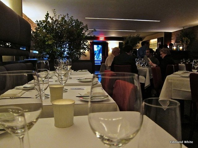 Comedor del Restaurante Blue Hill Nueva York