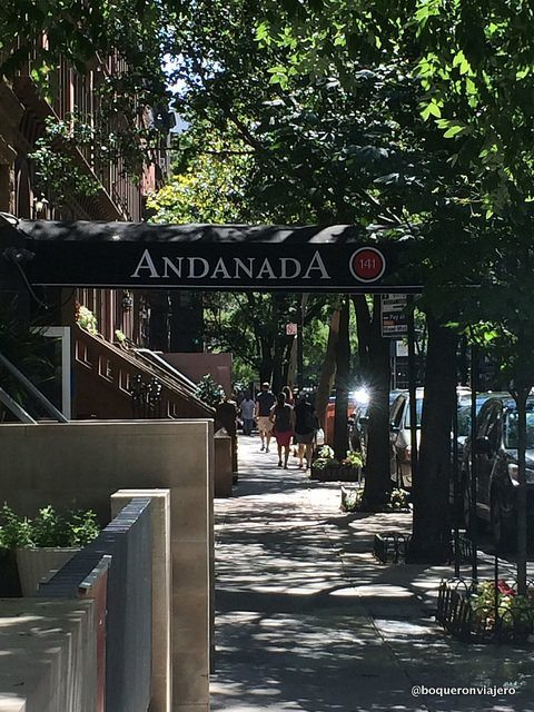 Entrada del Restaurante Andanada Nueva York