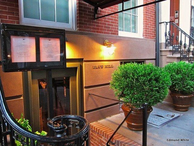 Exterior del Restaurante Blue Hill Nueva York
