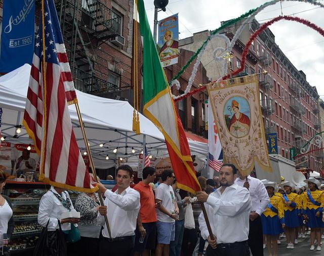 Fiesta de San Genaro en Little Italy Nueva York