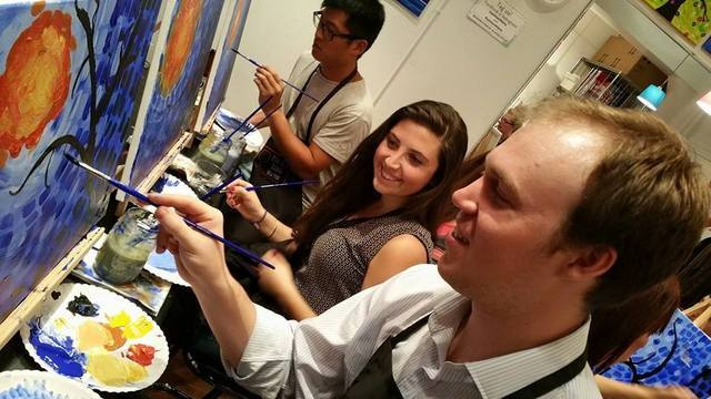 Paint and Sip New York