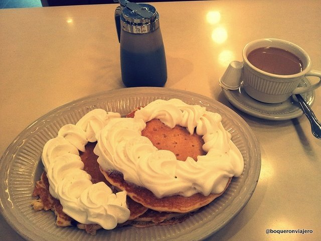 Pancakes de Janh's Diner en Queens