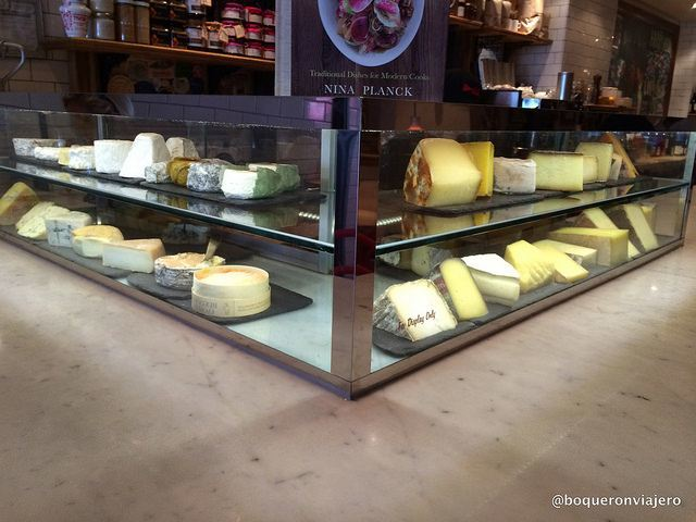 Quesos de Murray's Cheese Bar