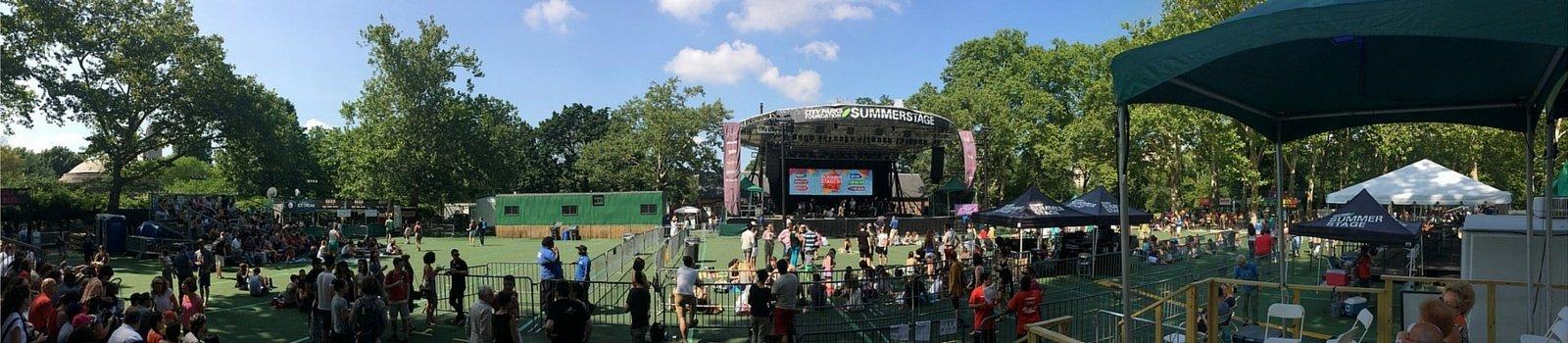 SummerStage Nueva York