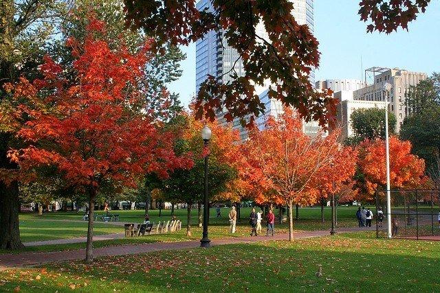 Boston en otoño