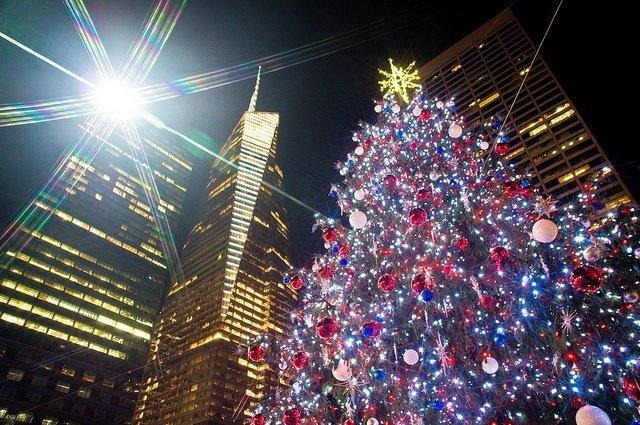 Bryant Park durante la Navidad
