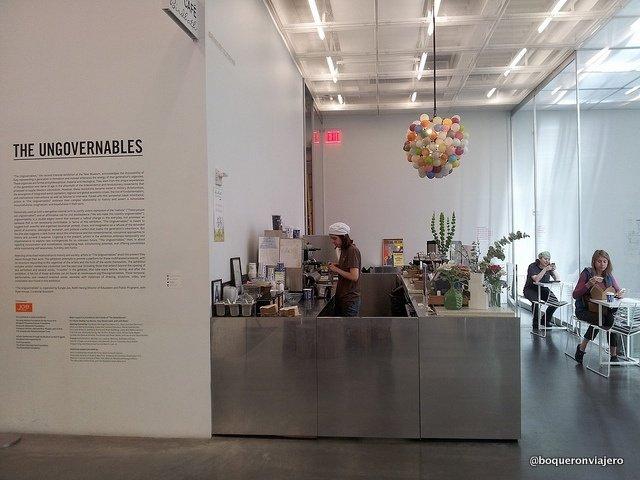 Cafetería de The New Musuem en Nueva York