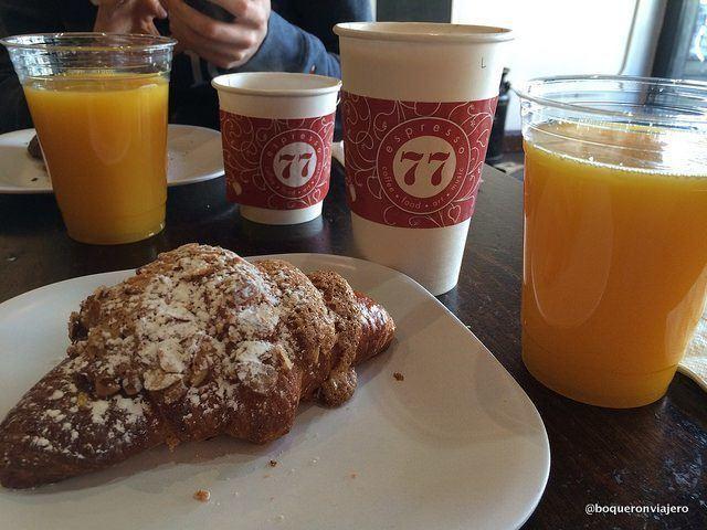 Desayunando en Espresso 77