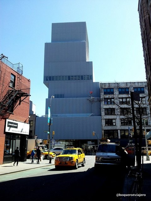 Edificio de The New Musuem en Nueva York