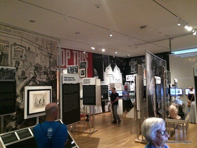 Exposición sobre activismo en el Museo de la Ciudad de Nueva York