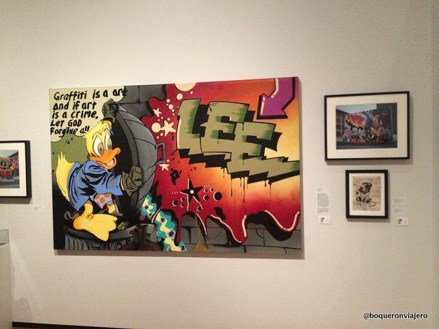 Exposición sobre graffiti en el Museo de la Ciudad de Nueva York