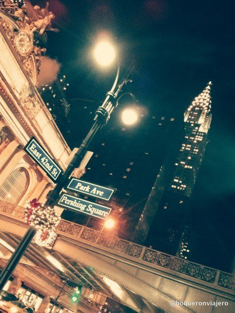 Grand Central y Chrysler Building