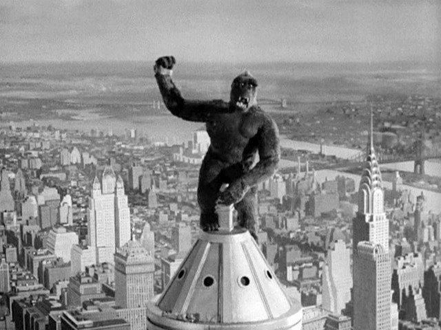 King Kong en el Empire State