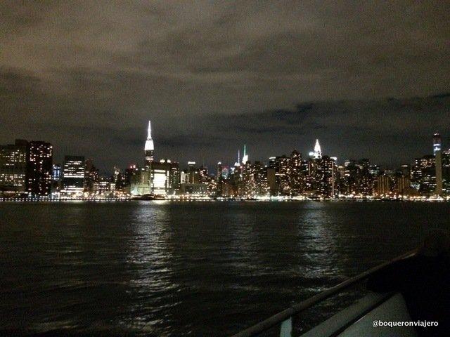 Manhattan desde el crucero