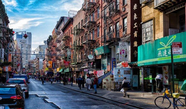 octubre en nueva york en chinatown