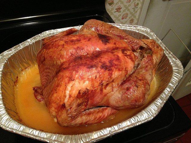 Pavo el Día de Acción de Gracias